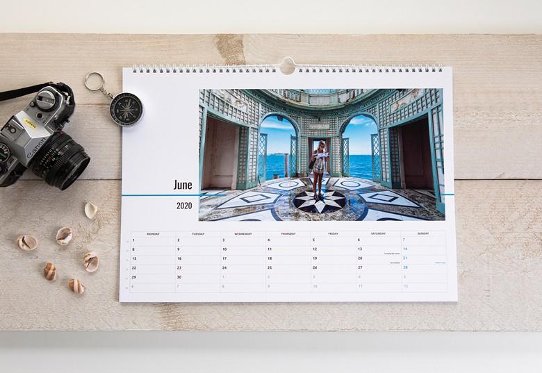 006 Veliki horizontalni kalendar A3
